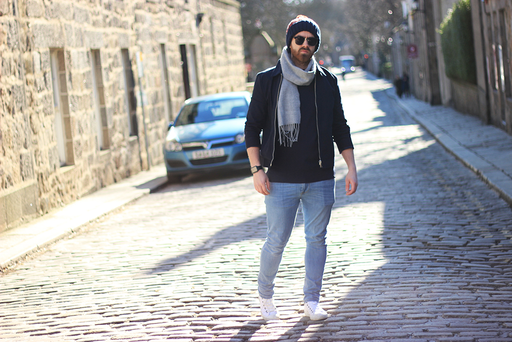 men's fashion blogger