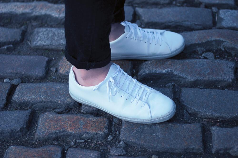 Zara mens minimal trainers