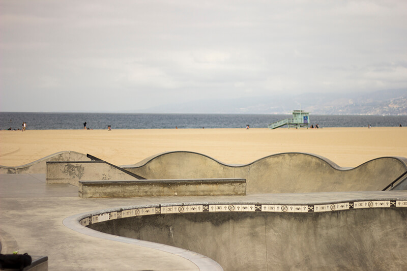 Venice Beach Bowl, CA