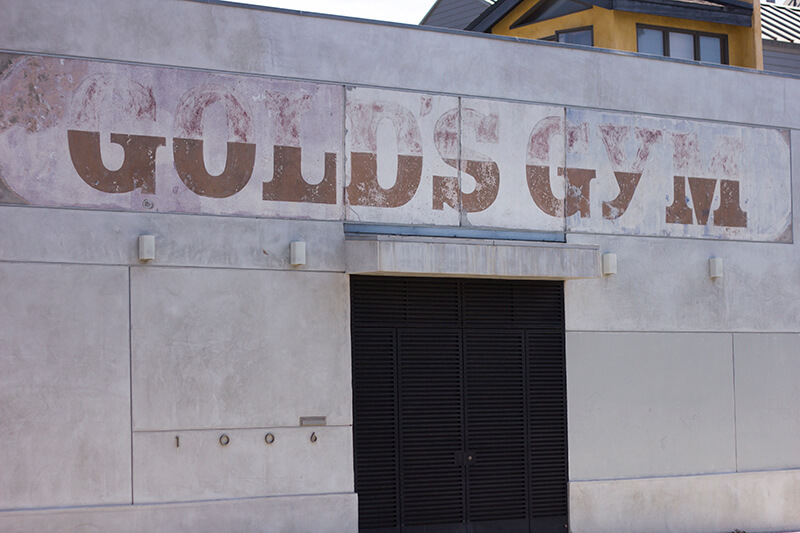 Original Golds Gym building, Venice Beach, CA