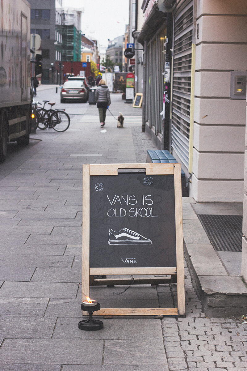 Vans is old School