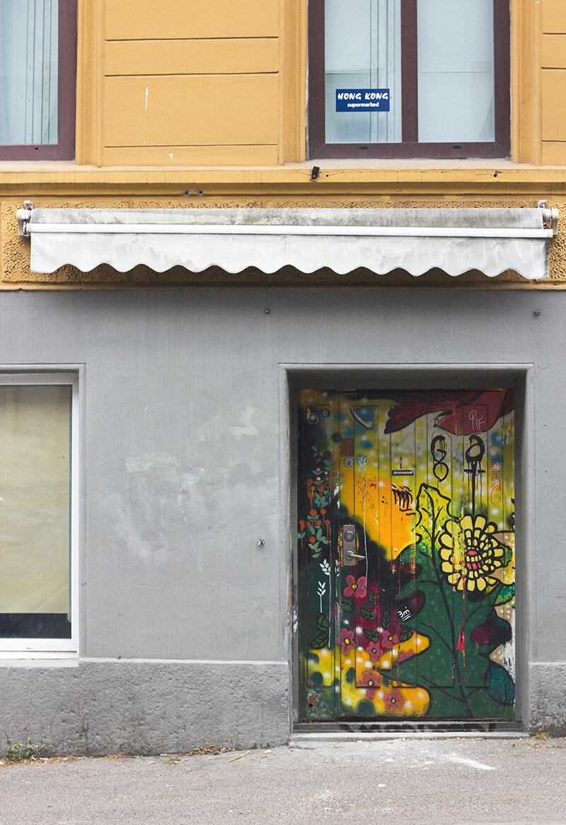 Doorway in Oslo
