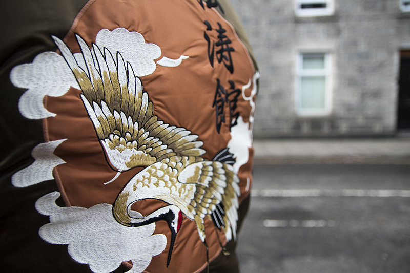 Souvenir Jacket Detail