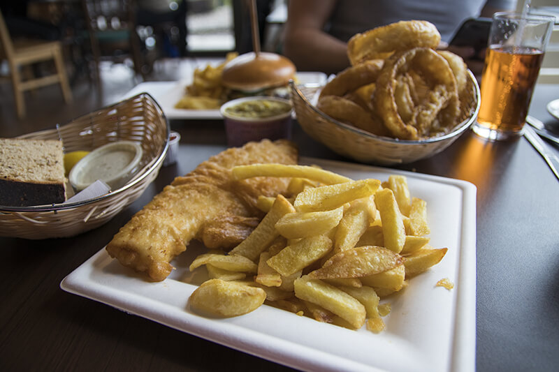 Fish and Chips from Real Food Cafe