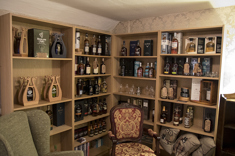 Taynuilt Hotel Whisky Selection
