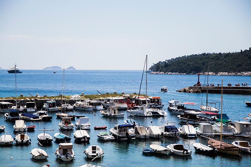 View of Dubrovnik Marina