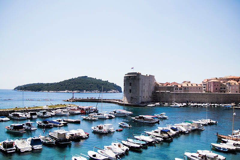 View of Dubrovnik Marina