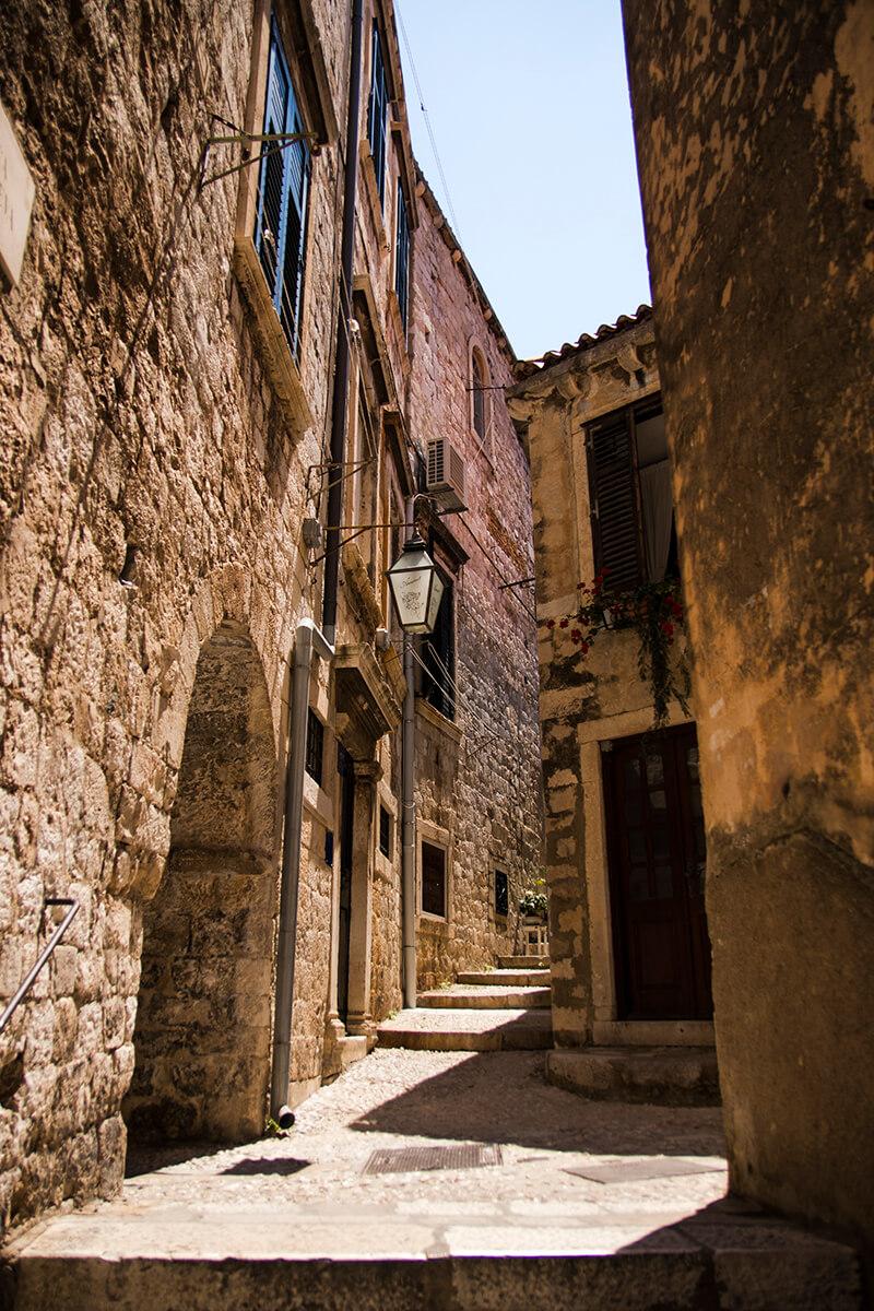 Alleys in Dubrovnik