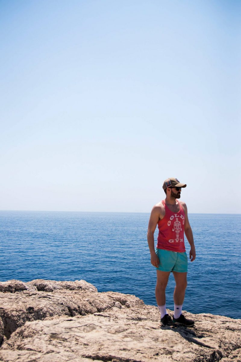 Me on Lokrum Island