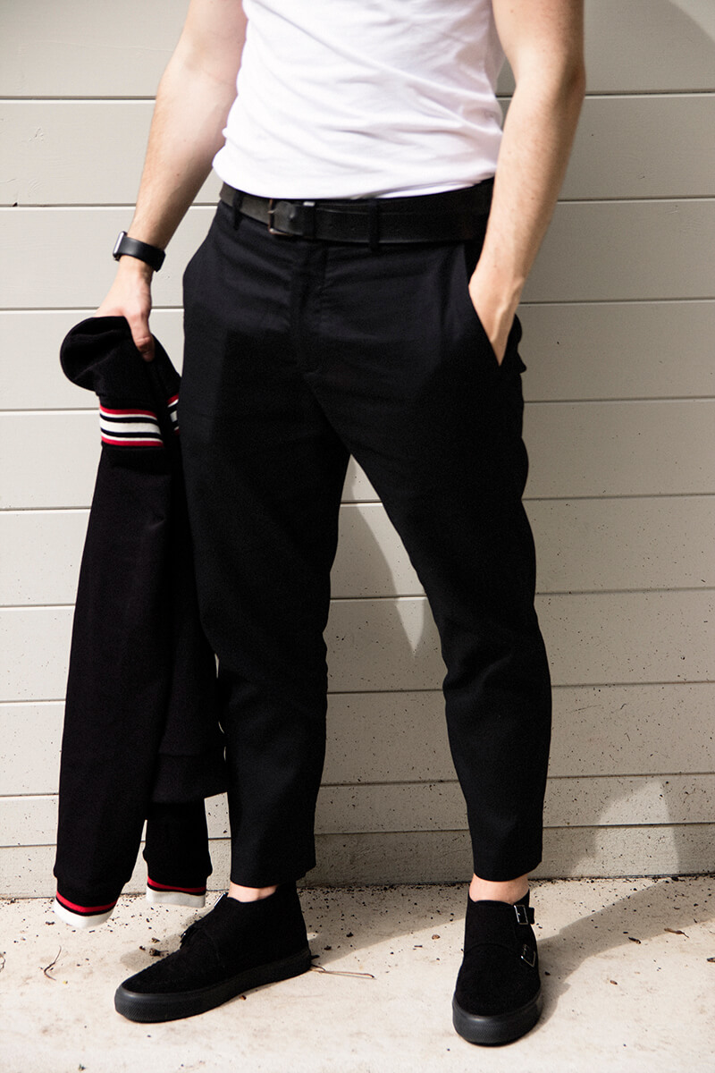 H&M Weeknd Spring Idols Cropped Trousers