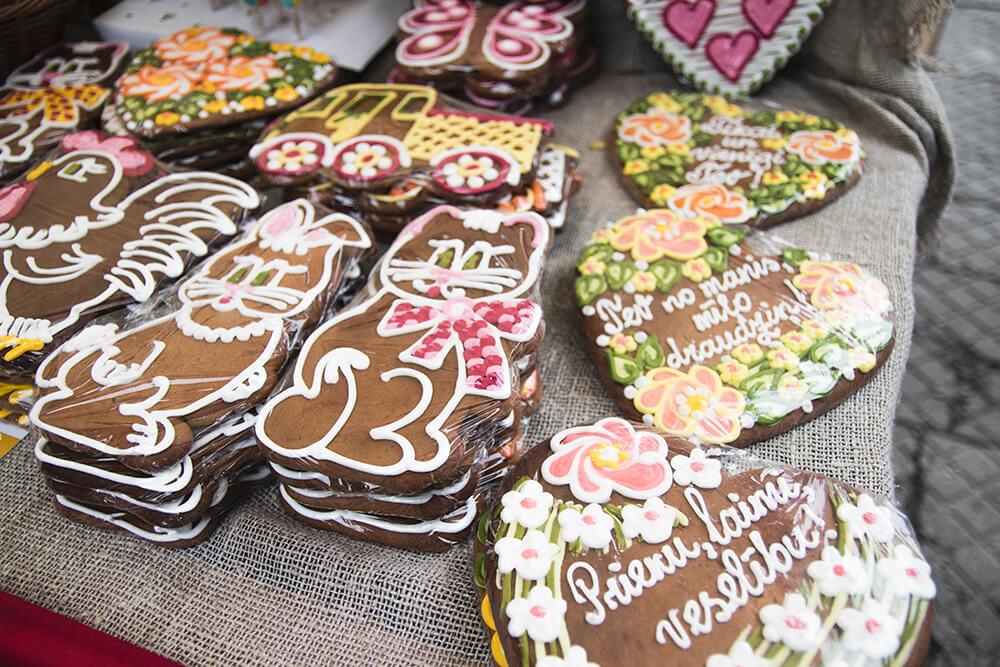 Biscuits on Riga Market