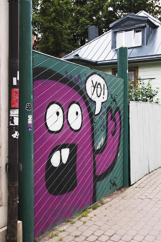 Graffiti in Riga