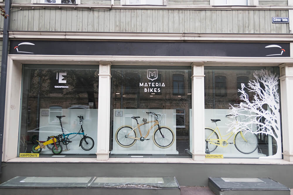 Bike Store in Riga