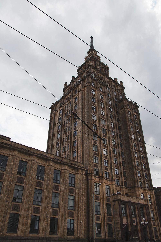 The Academy of Sciences - Riga