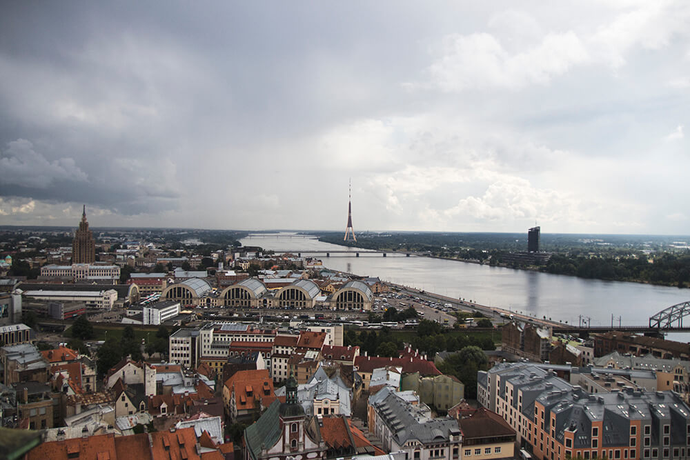 Views of Riga