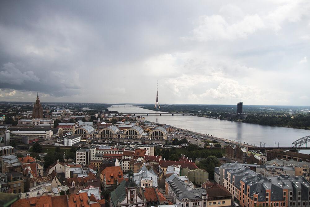 Views of Riga