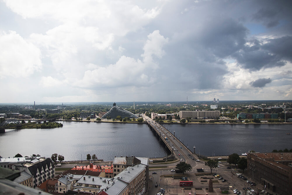 Views over Riga
