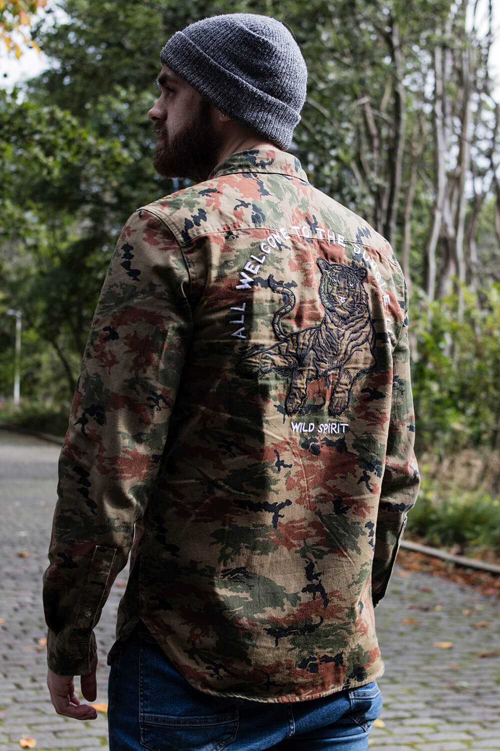 All Welcome to the Jungle Life Camo Shirt from Zara