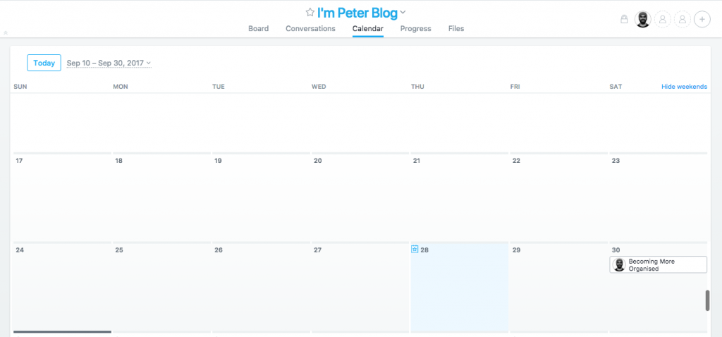 Using Asana as a Blog Content Calendar