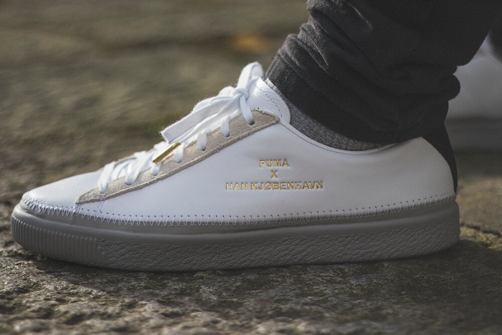 fee538ba2b84c6 Puma x Han Kjobenhavn - Clyde Stitched Sneakers