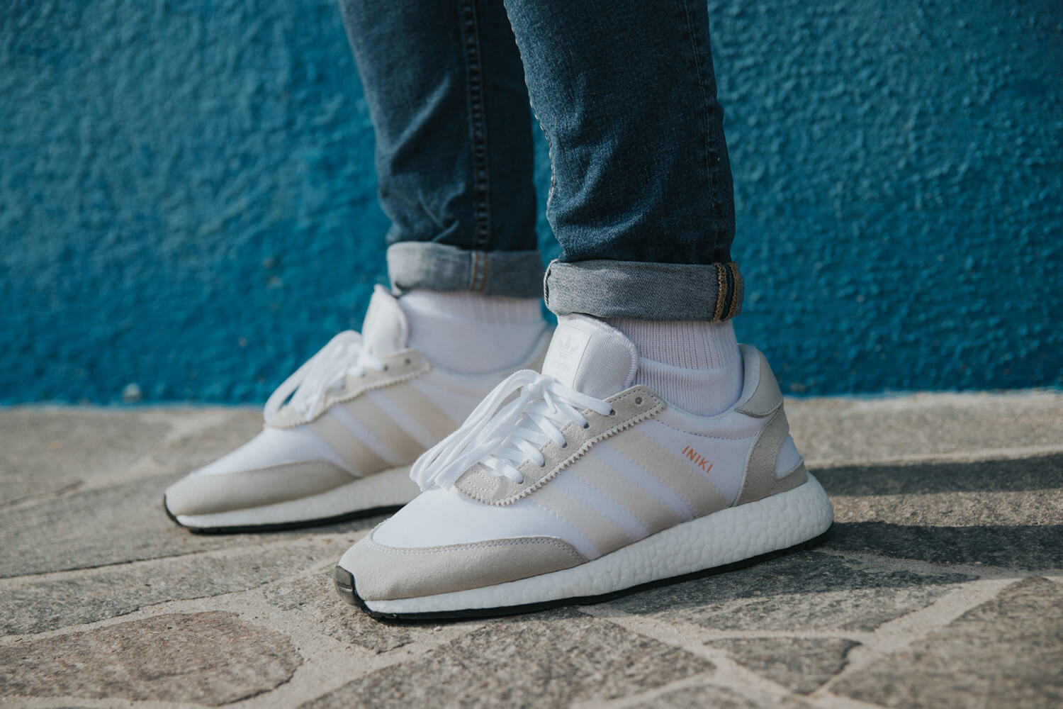 Adidas Iniki Runner Grey White